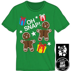 Oh Snap! Men's Green T Shirt