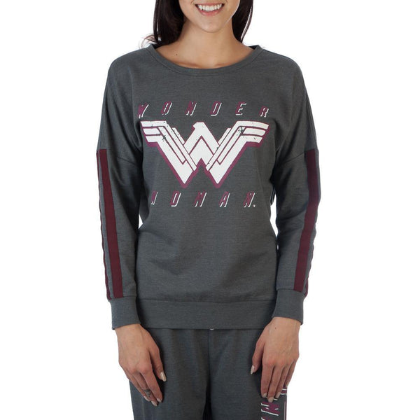 WONDER WOMAN LOGO LONGSLEEVE T-Shirt