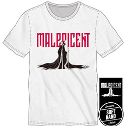 Maleficent Cape and Silhouette Title Shirt Men