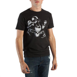 Disney Creepy Group Character Shirt Men