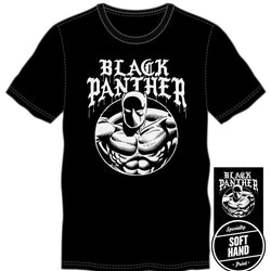 Marvel Comics Black Panther Men Black T-Shirt