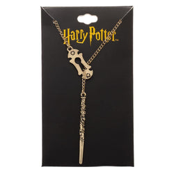 Harry Potter Alohomora Lariat Charm Necklace