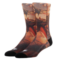 Magic: The Gathering Planeswalker Nicol Bolas Sublimated Socks