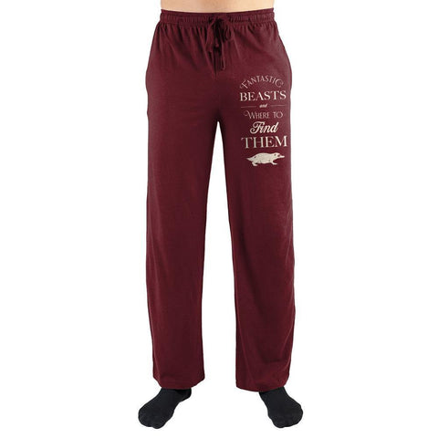 Fantastic Beasts Clothing Harry Potter Sleep Pants