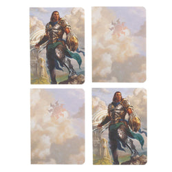 Magic: The Gathering Planeswalker Pocket Notebooks - 4 Pack