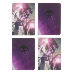Magic: The Gathering Planeswalker Liliana Vess Pocket Notebooks - 4 pack