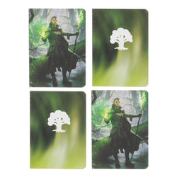 Magic: The Gathering Planeswalker Nissa Revane Pocket Notebooks - 4 set