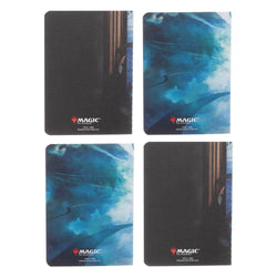 Magic: The Gathering Planeswalker Jace Beleren Pocket Notebooks - 4 Pack