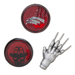 Freddy Krueger A Nightmare On Elm Street Lapel Pin Set