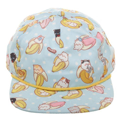 Bananya allover Sublimation Snapback