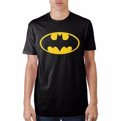 Batman Logo Black Pre-Shrunk T-Shirt Men