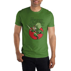 Green Arrow Bow And Arrow Men T-Shirt