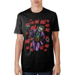Joker Ha Ha Ha Black Cotton T-Shirt Men