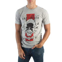 Batman Who I Am 100% cotton T-Shirt Men