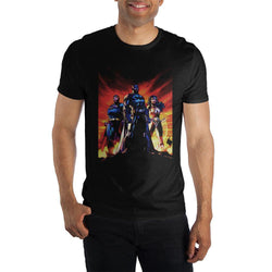 DC Comics Batman Superman Print Men Black T-Shirt