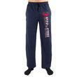 Superman Man Of Steel Print Navy Loungewear Pants