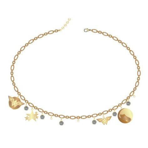 Wonder Woman Feel stylishly Delicate Choker