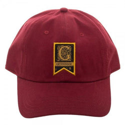 Gryffindor Woven Label Traditional Adjustable Cap