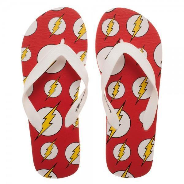 DC Comics Flash Unisex Flip Flops Slippers Women/Men