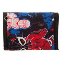 Spiderman Homecoming Tri-Fold Velcro Wallet