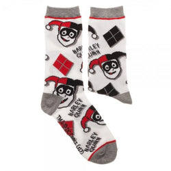 Harley Quinn Juniors Crew Sock 2 Pack