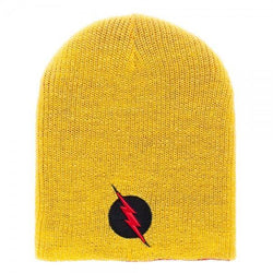 DC Comics Flash Reversible Slouch Beanie Cap/Hat