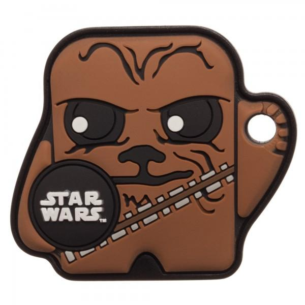 Star Wars Chewy Foundmi 2.0 Blustooth Tracking Keychain
