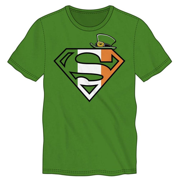 Superman St. Patrick's Logo Green T-Shirt