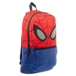 Marvel Spiderman Red Reflective Eyes Backpack