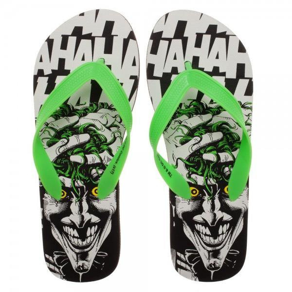DC Comics Joker Unisex Flip Flops Slippers Women/Men