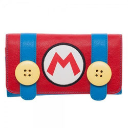 Nintendo Mario Juniors Flap Wallet