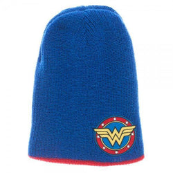 DC Comics Wonder Woman Reversible Slouch Beanie Cap/Hat