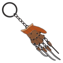 A Nightmare On Elm Street Freddy Krueger Glove Keychain