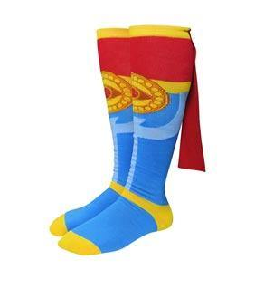 Dr. Strange Costume Crew Socks with Cape