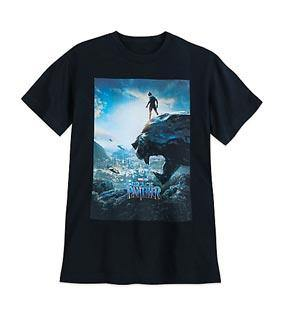 Black Panther T-Shirt for Adults - Movie Poster