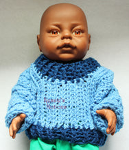 "Penny doll sweater for 15"" doll"