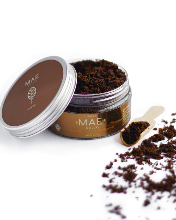 Exfoliante de Café Colombiano • Cocoa| Cocoa Colombian Coffee and Panela Scrub