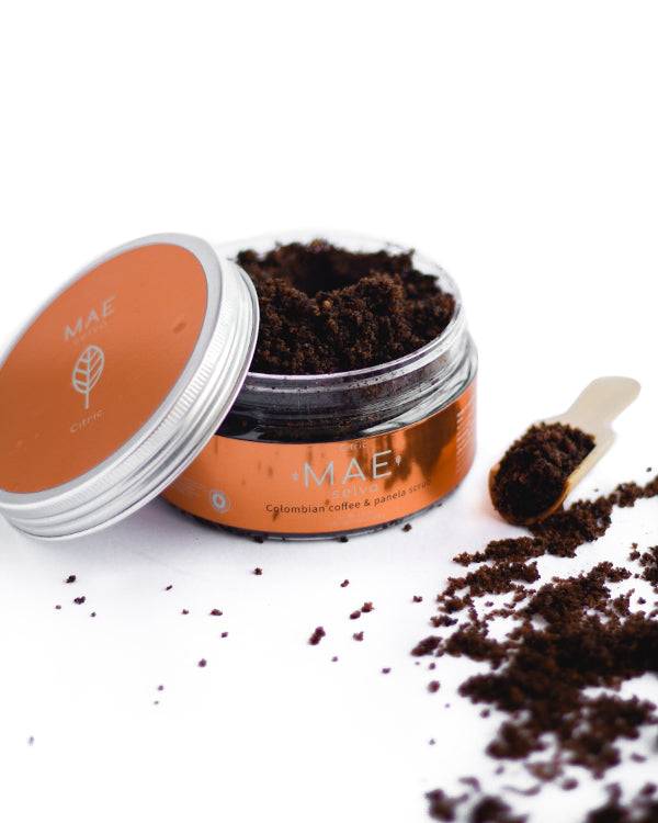 Exfoliante de Café Colombiano • Cítrico | Citric Colombian Coffee and Panela Scrub