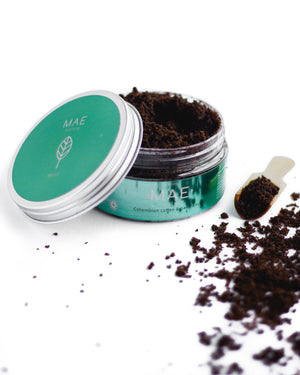 Exfoliante de Café Colombiano • Menta| Mint Colombian Coffee and Panela Scrub