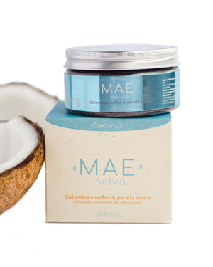 Exfoliante de Café Colombiano • Coco| Coconut Colombian Coffee and Panela Scrub