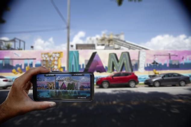 Artist In Miami Raises Awareness About Climate Change Through Clever Augmented Reality Exhibit