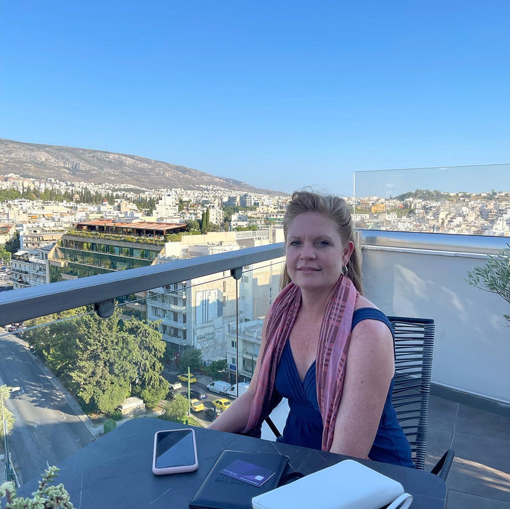 rooftop restaurant by the Parthenon