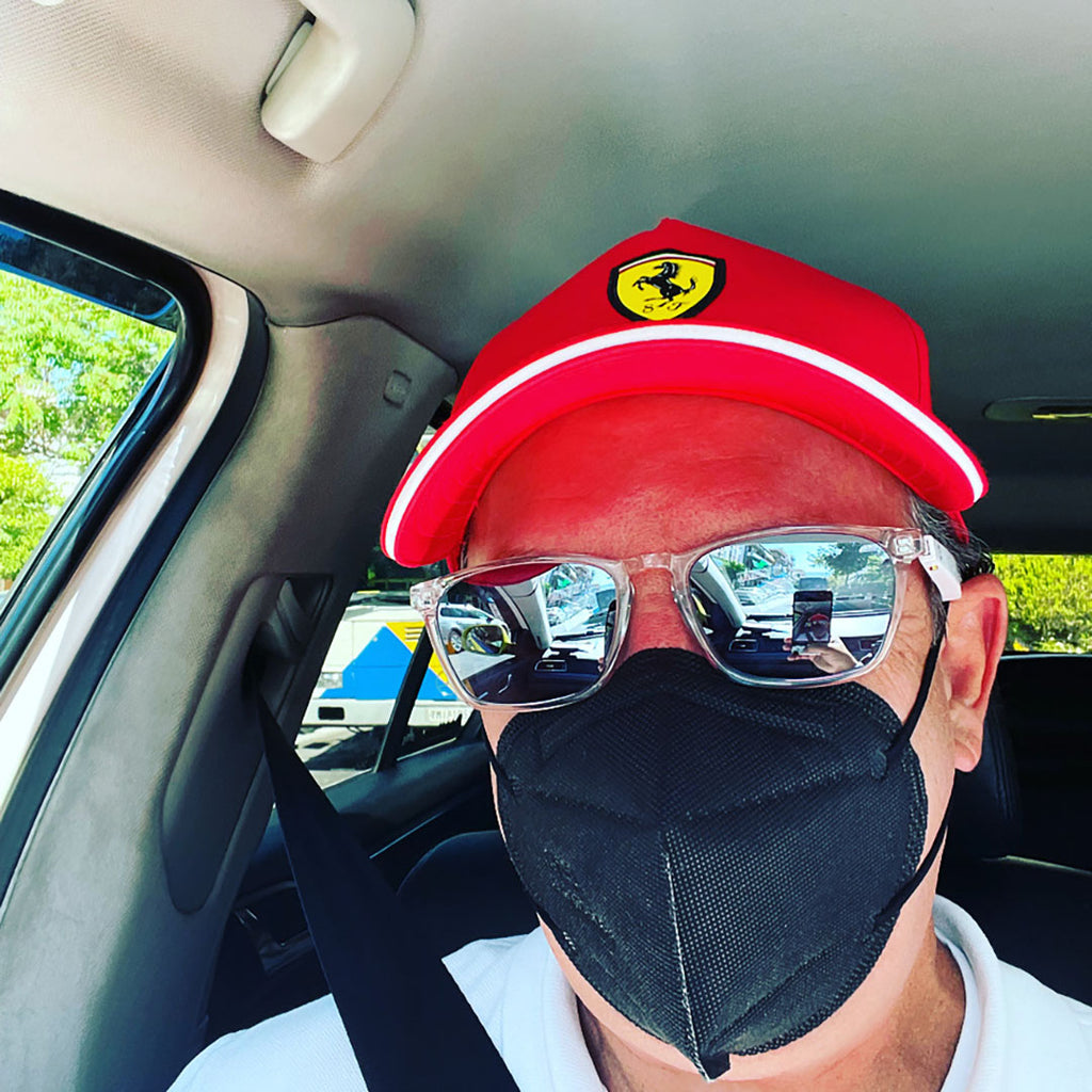 driving with bluetooth sunglasses