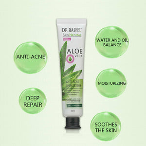 Dr Rashel Aloe Vera Anti Acne Cream Pimple Removal Oil Control Gel Ant Star Images 360