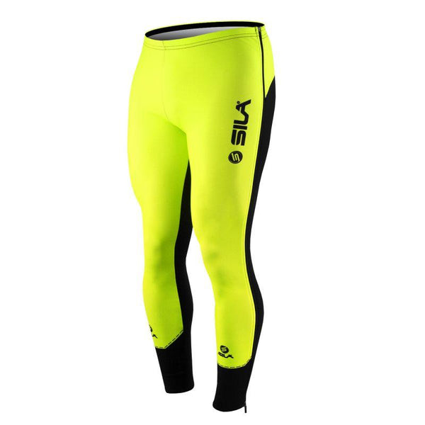 COLLANT D'ÉCHAUFFEMENT ZIP SILA FLUO STYLE 3 PLUS - JAUNE - Montreal Internationnal Sports