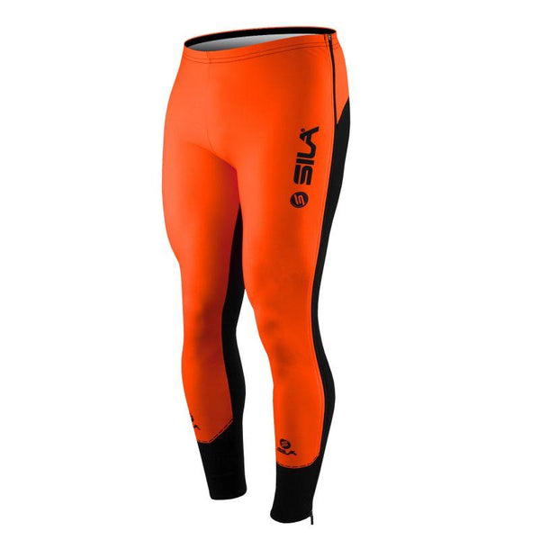 COLLANT D'ÉCHAUFFEMENT ZIP SILA FLUO STYLE 3 PLUS - ORANGE - Montreal Internationnal Sports