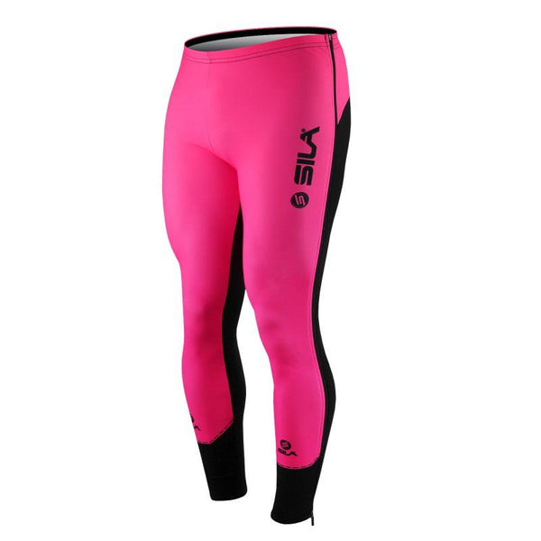 COLLANT D'ÉCHAUFFEMENT ZIP SILA FLUO STYLE 3 PLUS - ROSE - Montreal Internationnal Sports