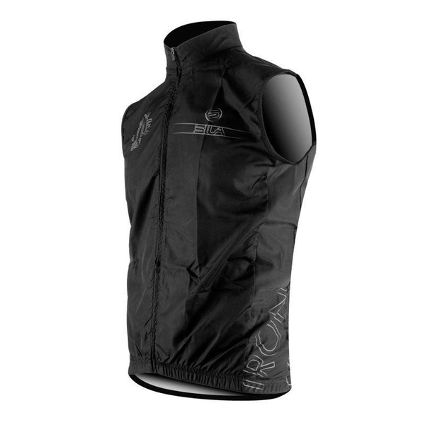 GILET COUPE VENT SILA IRON STYLE 2.0 BLANC Référence 2752 - Montreal Internationnal Sports