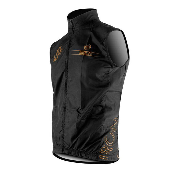 GILET COUPE VENT SILA IRON STYLE 2.0 ORANGE  Référence 2753 - Montreal Internationnal Sports