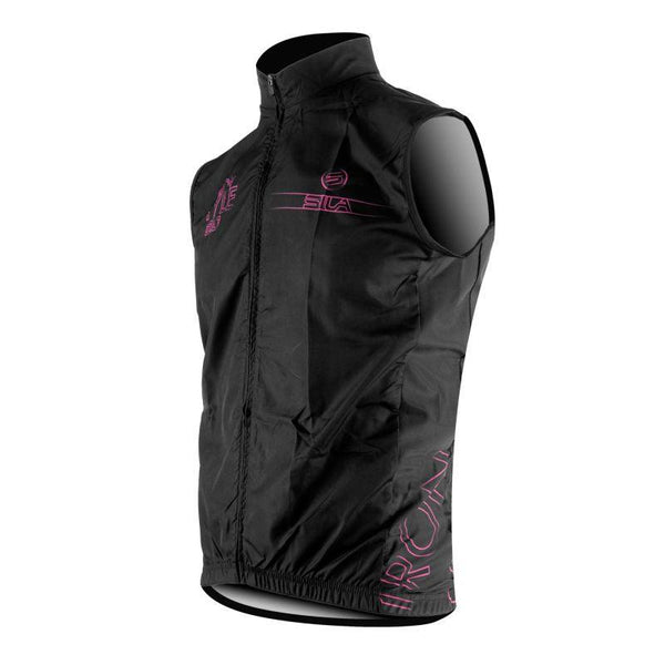 GILET COUPE VENT SILA IRON STYLE 2.0 ROSE
